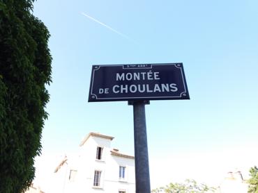 Travaux de sécurisation - montée de Choulans