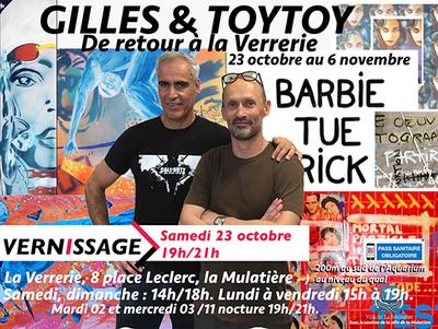 Exposition : Gilles & ToyToy de retour à La Verrerie
